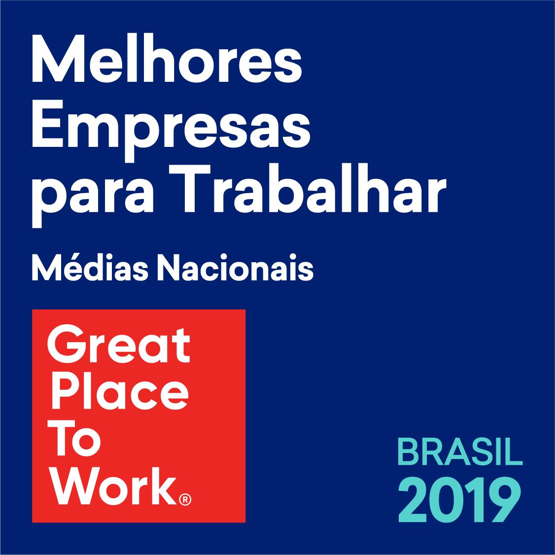 Melhores Empresas para Trabalhar Brasil 2019