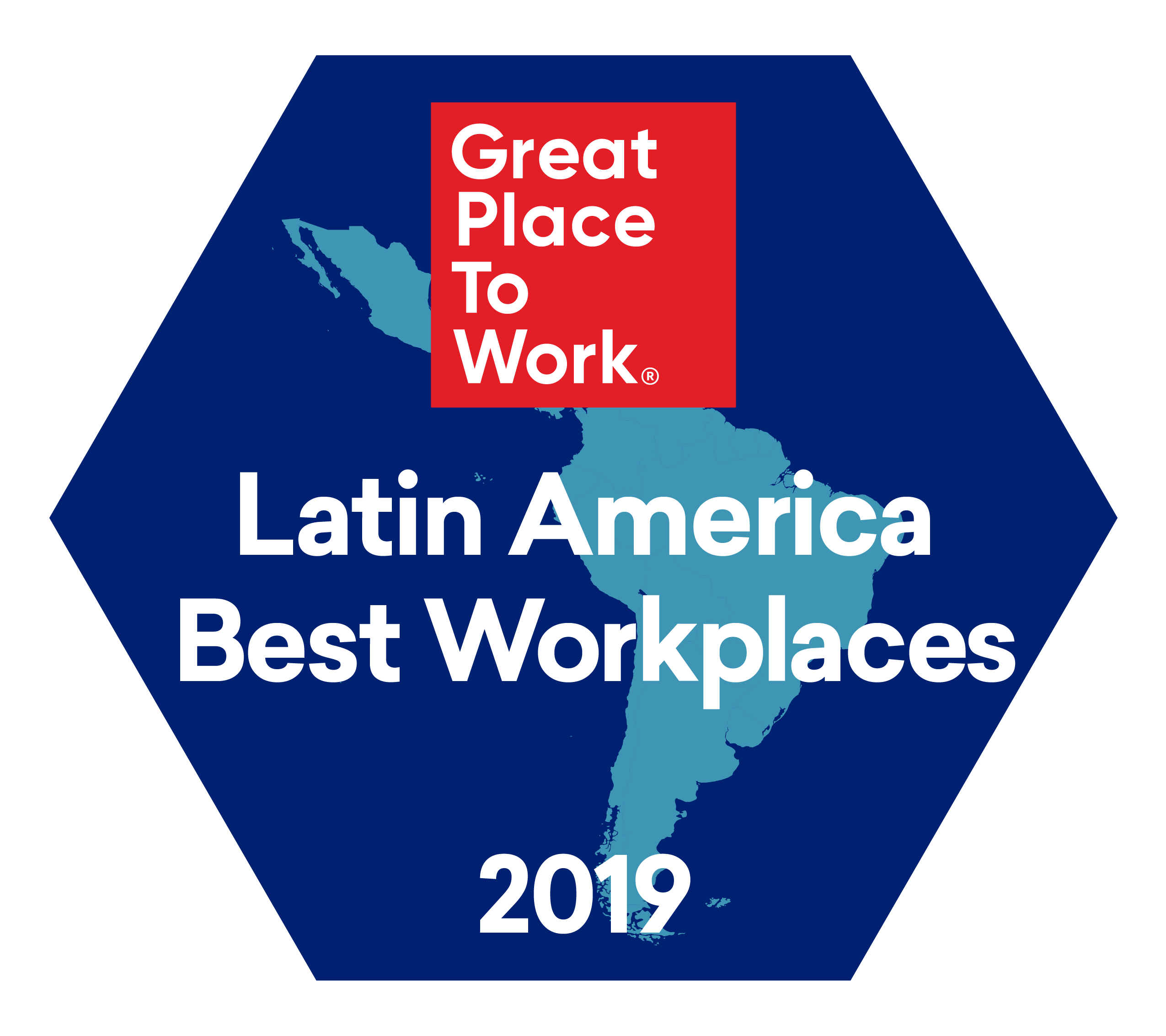 Melhores Empresas para Trabalhar América Latina 2019